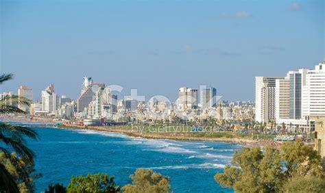 tel aviv future skyline tel aviv skyline stock photos freeimages com