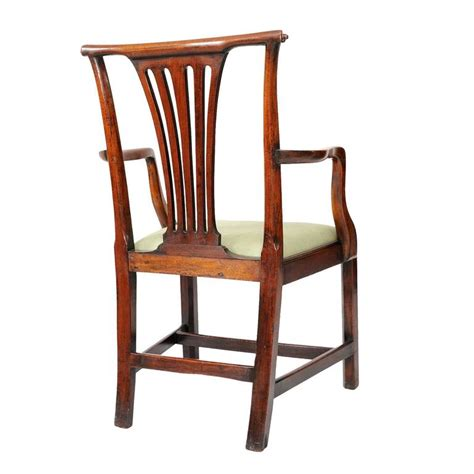 georgian chinese chippendale side chair circa 1760 for pair of english chippendale style mahogany open arm desk