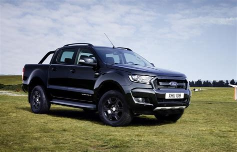 ford europe ford ranger black edition announced in europe