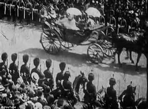 Film Footage Of Queen Victoria | diamond jubilee footage from 1897 of queen s great great