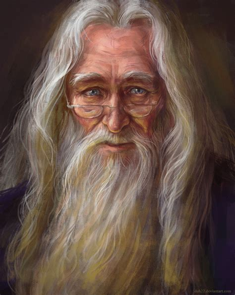 a portrait of the artist as a books albus dumbledore by duh22 on deviantart