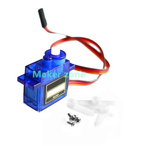 Produk Sg90 Servo Motor Bracket sg90 mini servo motor 9g accessories parts of fpv servo bracket platform small robot