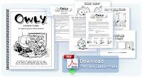 Shelf Lesson Plans by The Graphic Classroom Owly Volumes 1 4