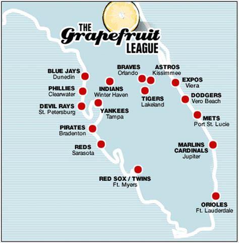 grapefruit league map mlb announces 2017 schedule mega sports news