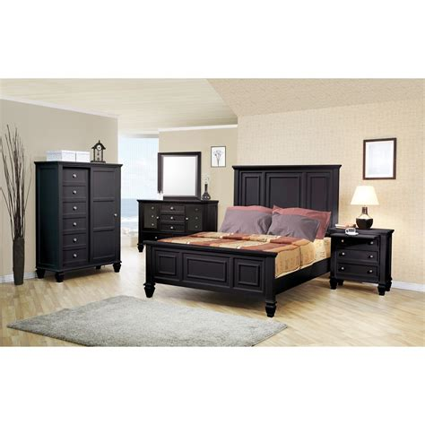 sandy beach bedroom set coaster sandy beach 5pc king size panel bedroom set in