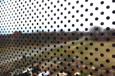 dot pattern on windshield new bell museum features bird safe glass windows
