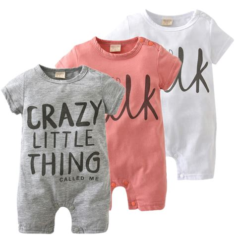 Ms 1150 Romper Set 2018 New Fashion Baby Romper Unisex Cotton Sleeve