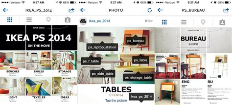 Ikea Instagram by Ikea Built A Web Inside Instagram And More Stuff You Can