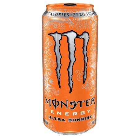 Monster Energy Drink Gift Cards - monster energy drink ultra sunrise 4 pk 16 0 fl oz walmart com