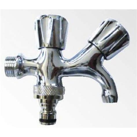rubinetto doppio rubinetto doppio 13706 cromo