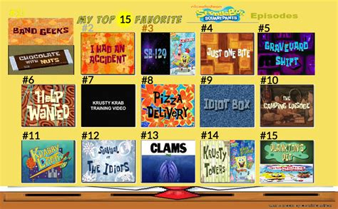 Is A Top 7 Vs Top 20 Mba Program by Top 15 Best Spongebob Episodes By Bubblesyesmm20no On