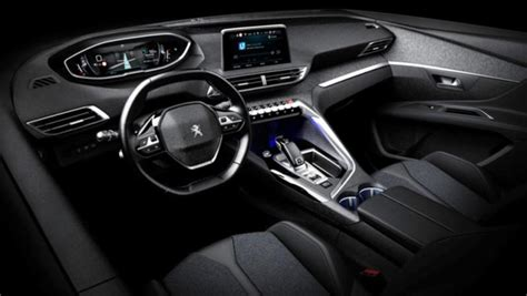 peugeot 3008 interior 2017 peugeot 3008 interior revealed in leaked images