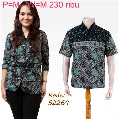 Baju Pasangan Terbaru baju batik model terbaru model baju batik modern
