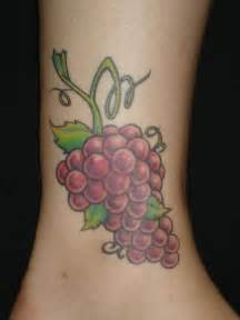 fruit tattoos 10 best grape vine images on grape