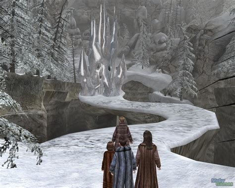 Setting Of Narnia The The Witch And The Wardrobe by The Chronicles Of Narnia Pc Screenshot The Chronicles