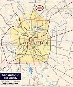 san antonio map san antonio early history houston