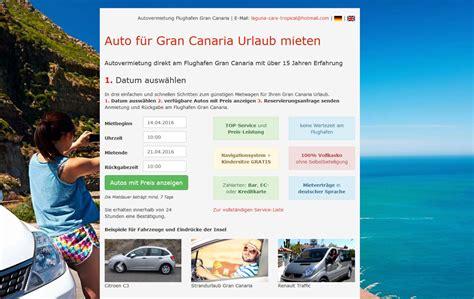 Gran Canaria Auto Mieten by Referenzen Stm Systems Internetprogrammierung Online