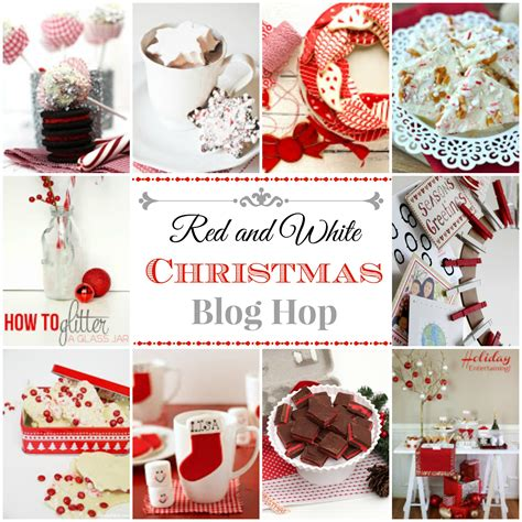 red and white christmas ideas