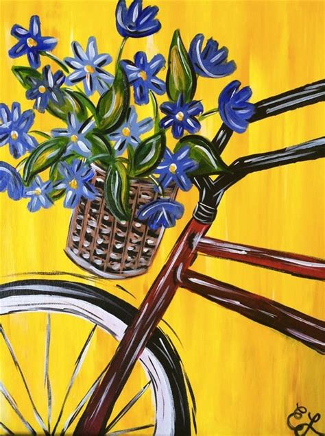spring painting ideas 25 best ideas about flower painting canvas on pinterest