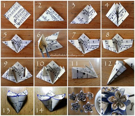 How To Make A Paper Bouquet - origami steunk wedding bouquet tutorial elizabeth s
