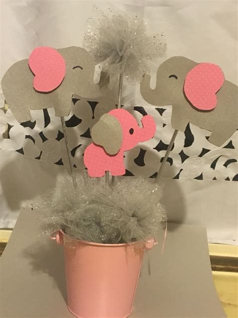 Elephant Baby Shower Decorations by De 25 Populairste Idee 235 N Elephant Centerpieces Op