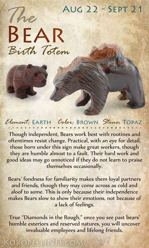 born great meaning bear birth totem paranormal spiritual pinterest