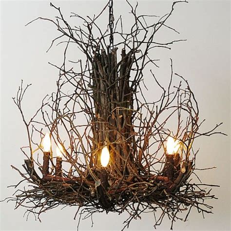 Twig Chandelier 17 Best Ideas About Twig Chandelier On Twig Definition Lake Cabin Interiors And