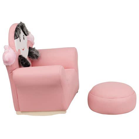 little girl recliners flash furniture kids pink little girl rocker chair and
