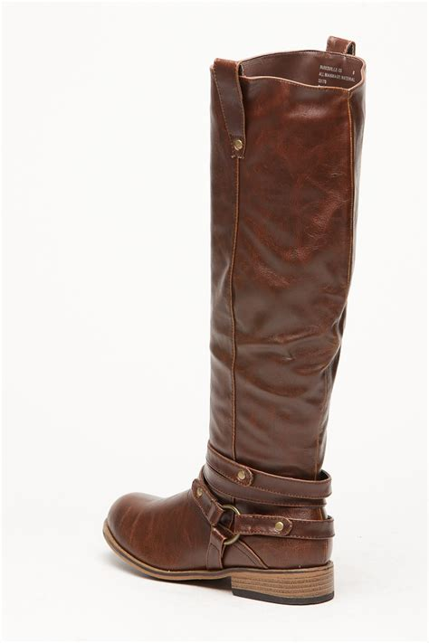 bamboo brown parksville rider boot