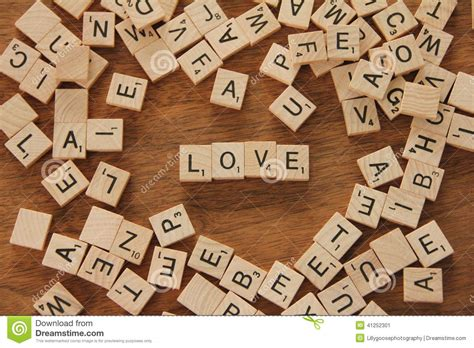 is el a word in scrabble the word stock photo image 41252301