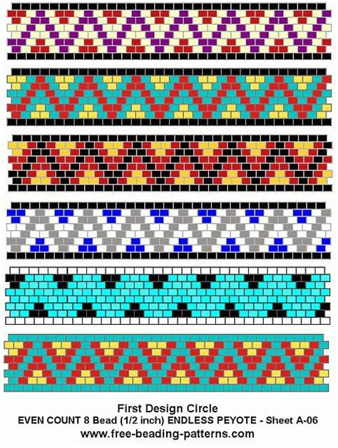 bead pattern design software free free peyote bead pattern a 06 carrier beads pinterest