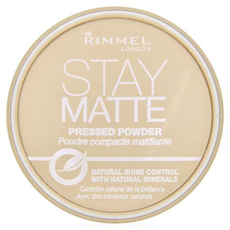 Bedak Rimmel Stay Matte rimmel stay matte pressed powder transparent free