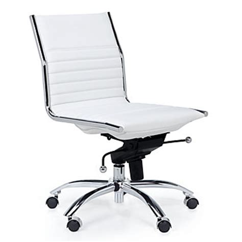 White Desk Chair Reviews And Information Tips For White Armless Desk Chair