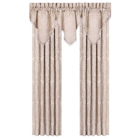 beaded fringe for curtains lowes hotel room dividers jacquard curtain valance with