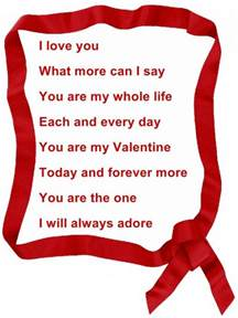 poem about valentines day poems and quotes quotesgram