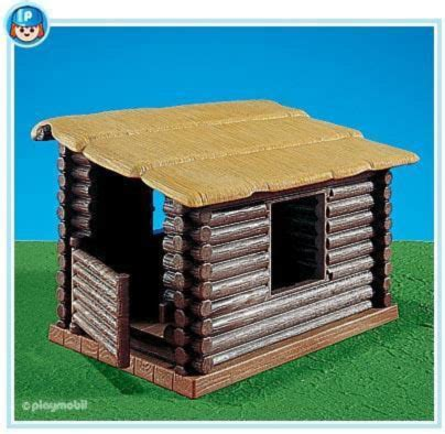 playmobil log cabin playmobil set 7098 shelter cabin klickypedia