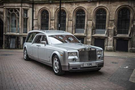 Rolls Royce Hearse Rolls Royce New Phantom Hearse Nished In Silver Rolls
