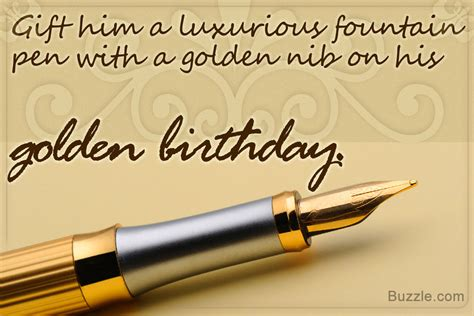 Fantabulous  Ee  Golden Birthday Gift Ideas Ee   For Him