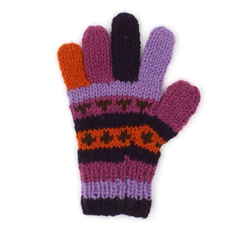 warm purple warm purple gloves wooll beautiful warm winter