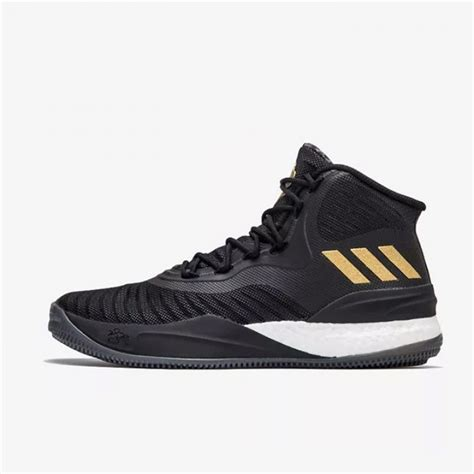 Sepatu Basket D jual sepatu basket adidas d 8 black gold original
