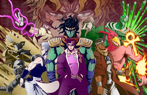 jojo stardust crusaders jojo s adventure stardust crusaders by