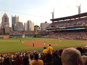 section 125 pnc park pnc park section 127 seat views seatscore rateyourseats