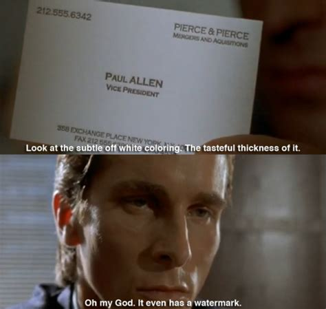 american psycho business card harron american psycho business card genius