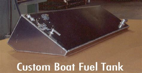 boat gas tank fabrication specialty fabrications