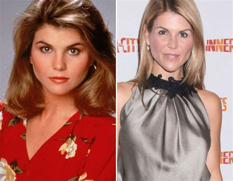 lori loughlin now and then 22 best images about full house on pinterest stephanie