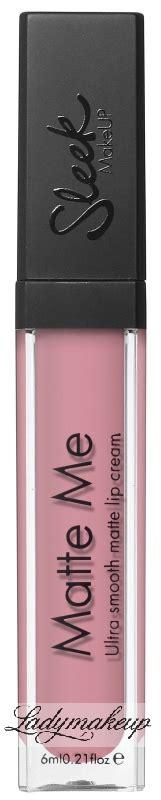 Sleek Matte Me Ultra Smooth Lip sleek matte me ultra smooth matte lip matowa