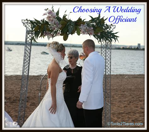 Wedding Ceremony No Officiant by How To Choose Wedding Officiant