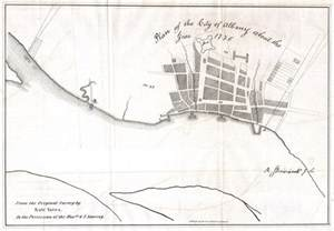 file 1820 yates map of albany circa 1770 geographicus