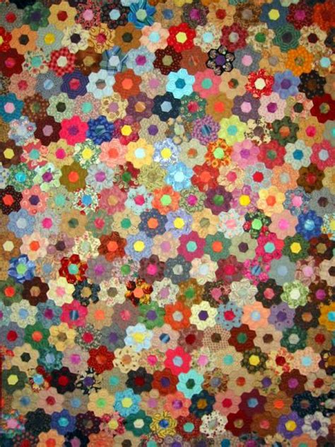 Grandmother S Flower Garden Quilt Pattern 464 Best Images About Quilts Grandmother S Flower Garden