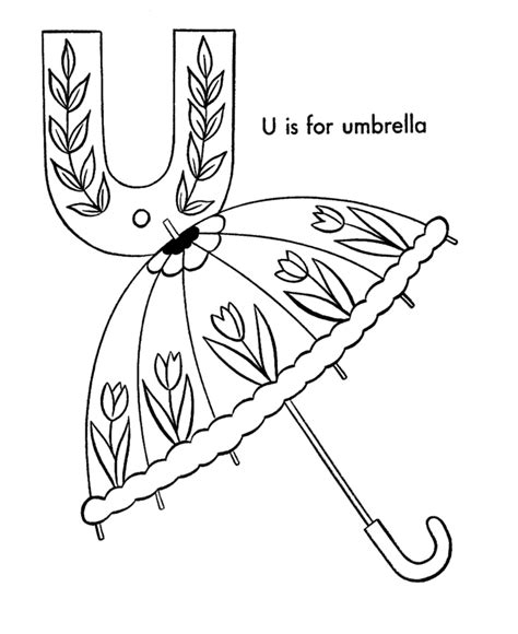 coloring pages letter u animals umbrella coloring page az coloring pages